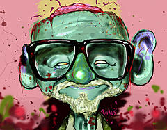 Apocalypse Question #8 - FINISHED-kamikazepanda_george-romero-zombified.jpg
