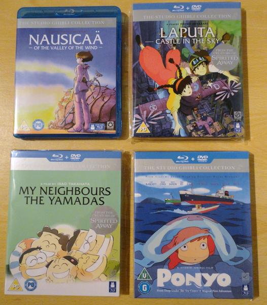 Studio Ghibli Collection (Arrietty and Whisper of the Heart coming soon)