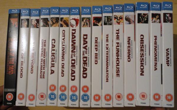 Arrow Video Collection so far