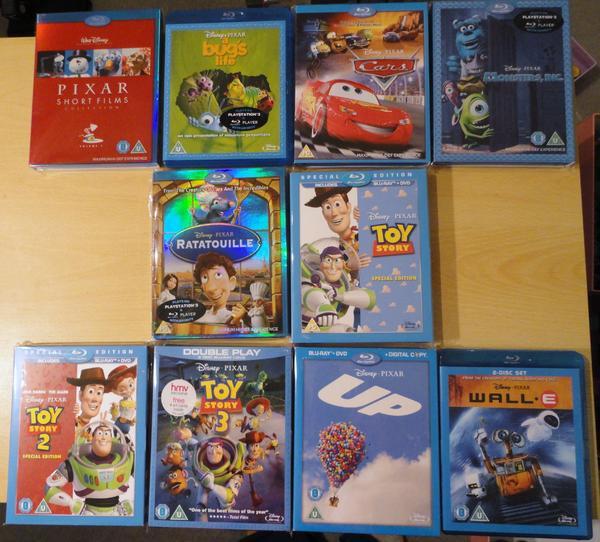 Disney/Pixar Collection so far