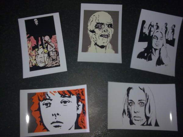 Fulci postcard set.