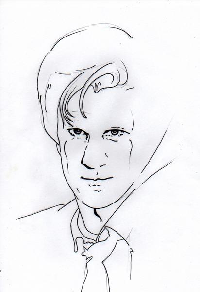 WiP Matt Smith, just because I wanted to see if I could capture him.