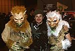 Christian Sellers, Michael Stephenson, Susan Hardy - during filming of the Troll 2 documentary Best Worst Movie, November 2007