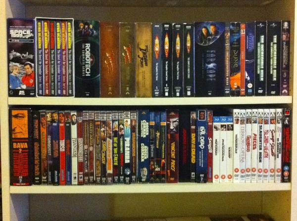 As you can tell I am a huge sci-fi fan as well my Starblazers, Farscape, Space 1999, and Doctor Who are among some of my faves.
