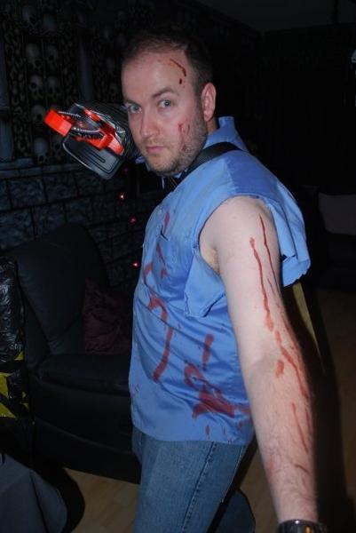 Halloween 2009 as Ash