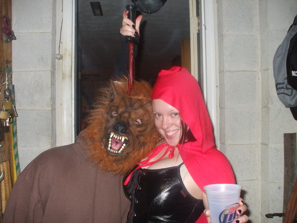 that's me luring in the big bad wolf