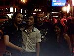 Me with Hong Kong band Vrank