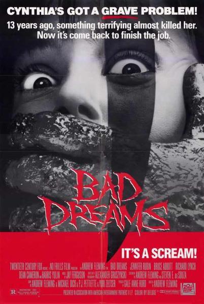 Bad Dreams movie poster