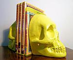 Shameless DVD skull stack