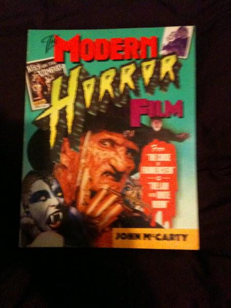 My favourite book when I was 11, used to have to hide it under my bed because the pic of Freddy used to scare the shit outta me!