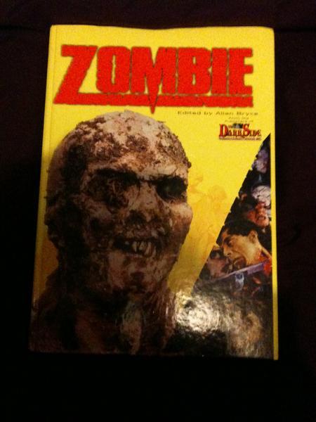 Dark Side Zombie book(hard back edition)