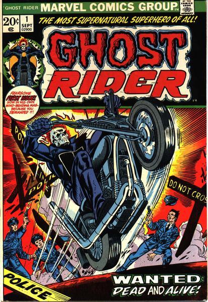 Ghost Rider V1 001 01