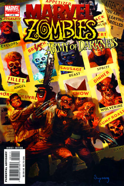 Marvel Zombies vs Army of Darkness #1