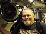 In the Engine Room of HMS/M Alliance, Gosport Submarine Museum