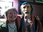 The Great and Crazy Arthur Brown with My boy, Joe